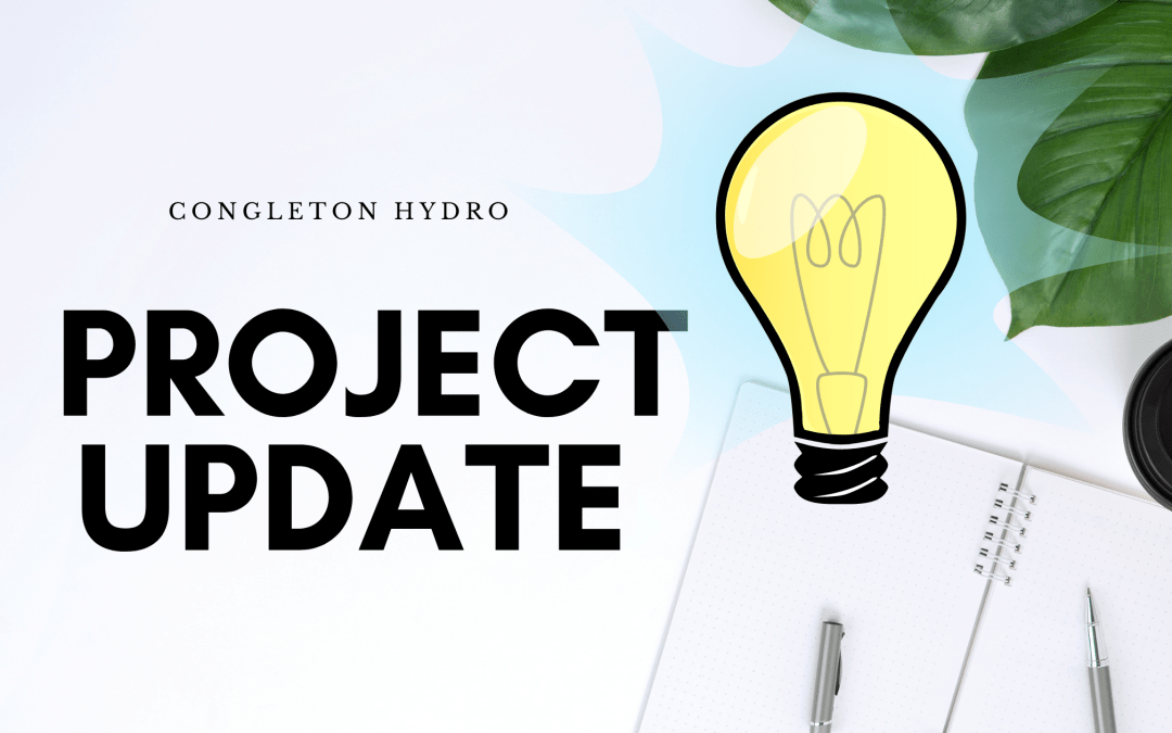 congleton Hydro project update