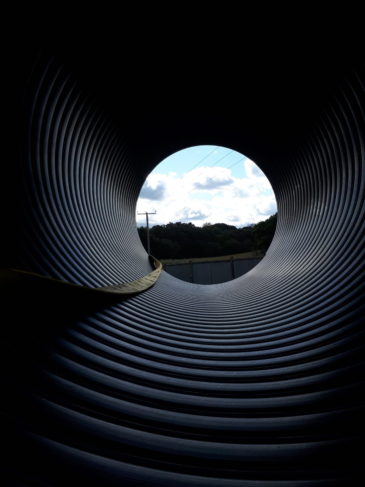 The Weholite pipe has already been delivered