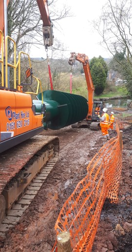 Congleton Hydro moving Archie