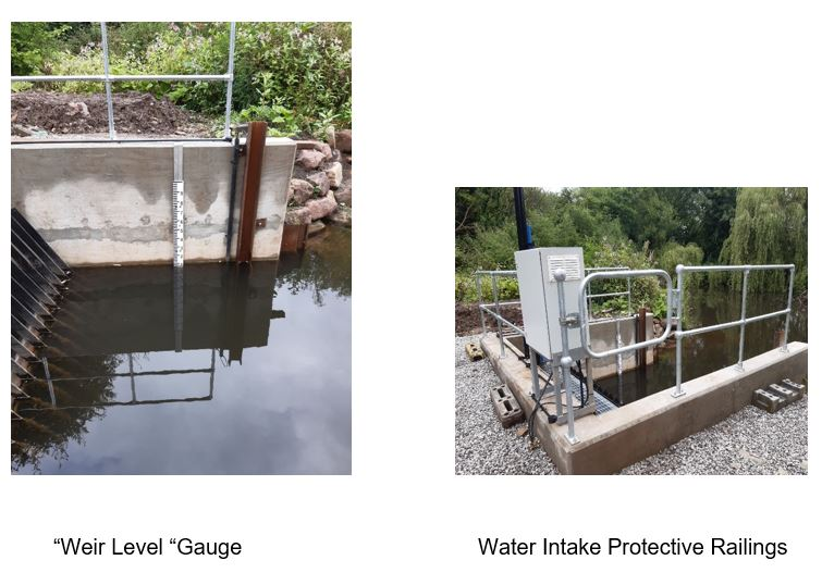 Water level gage