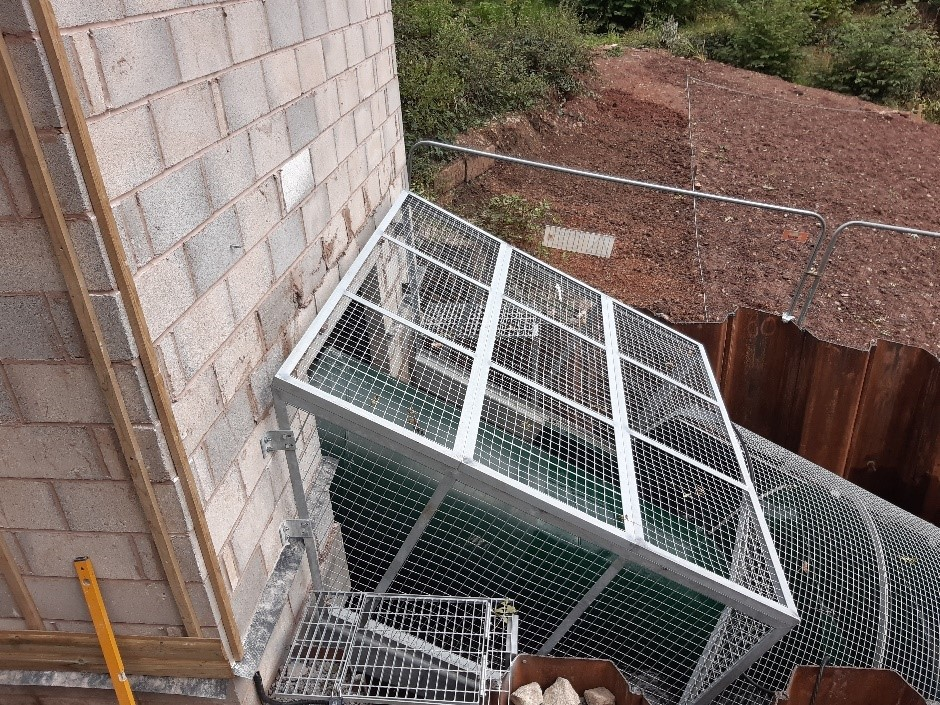 Safety Mesh Extension